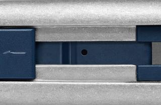 Bezpečnostní nůž  SECUNORM PROFI40 MDP  Bez laku