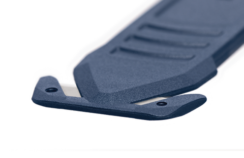 It is not just the handle that has an extremely flat design – the cutting channel too measures just 1.5 mm. Less effort is required for cutting and the tool also retains its strength – thanks to a 0.5 mm blade and high-quality plastic.