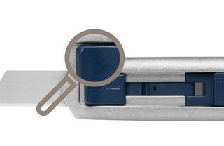 Bezpečnostní nůž  SECUNORM PROFI40 MDP  Zjistitelný detektorem kovů