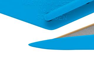 Bezpečnostní nůž  SECUMAX PLASTICUT  Přední část nože je vhodná k prořezávání