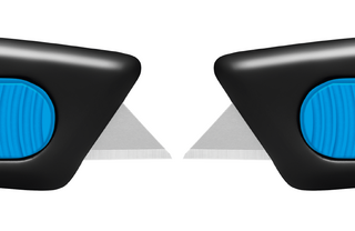 Bezpečnostní nůž  SECUNORM SMARTCUT  Posunovač je po obou stranách