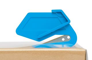 Bezpečnostní nůž  SECUMAX PLASTICUT  Ochrana zboží je zajištěna